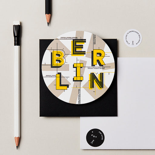 Tiny Guide to Berlin (letterpressed)