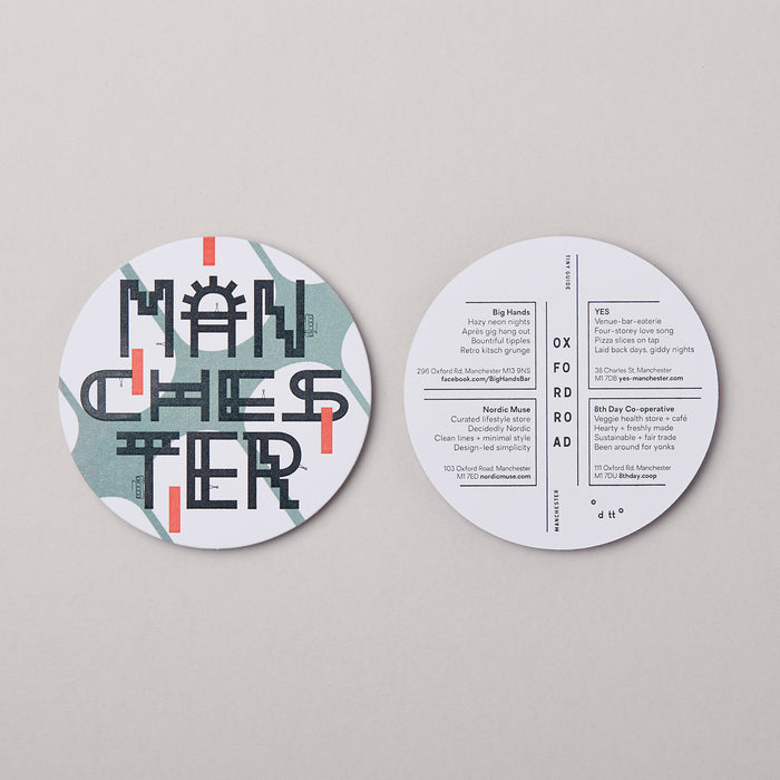 Tiny Guide to Manchester (letterpressed)