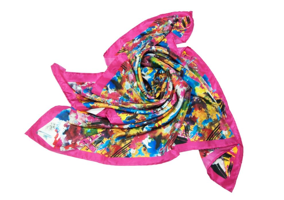 Urban Art Brush Stroke Scarf