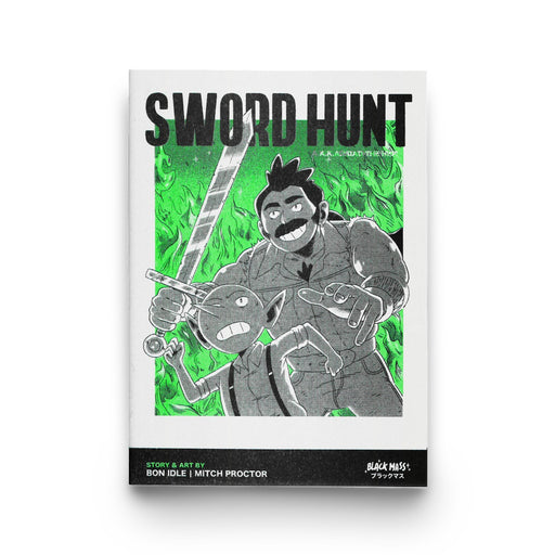 'Sword Hunt' Risograph Comic Book by Bon Idle (Mitch Proctor)