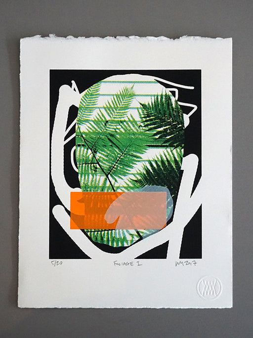 Foliage 1, Screenprint