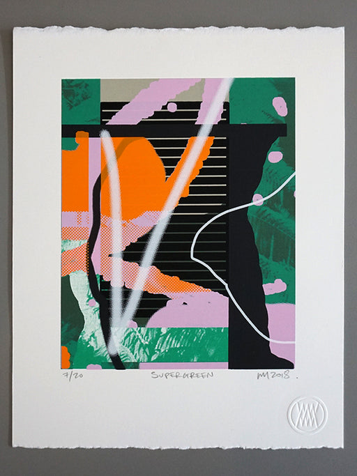 Supergreen, Screenprint