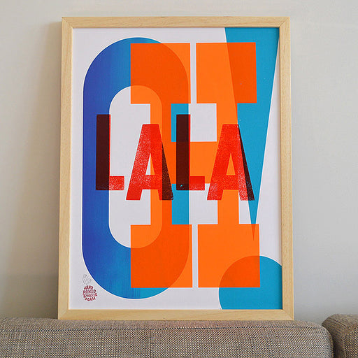 OHLALA! Letterpress / Screenprint