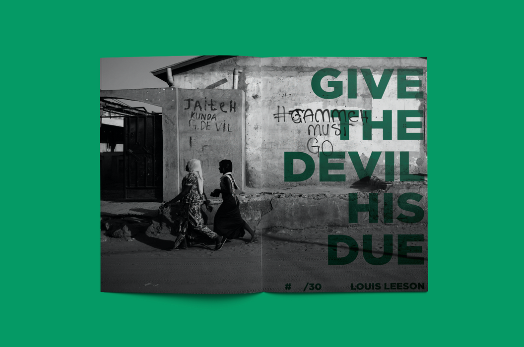 Louis Leeson - Give The Devil His Due