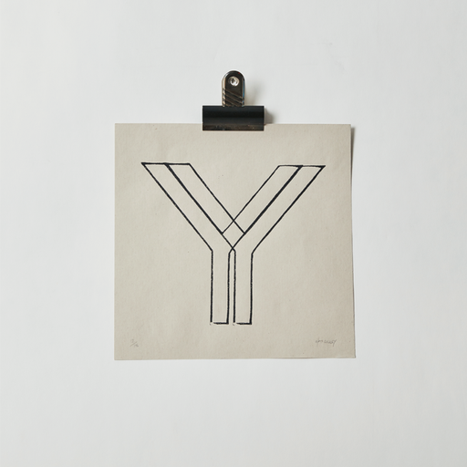 (Just) Y - Handpulled screenprint