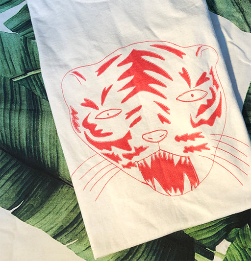 Eye of the Tiger T-Shirt / Mary Lo