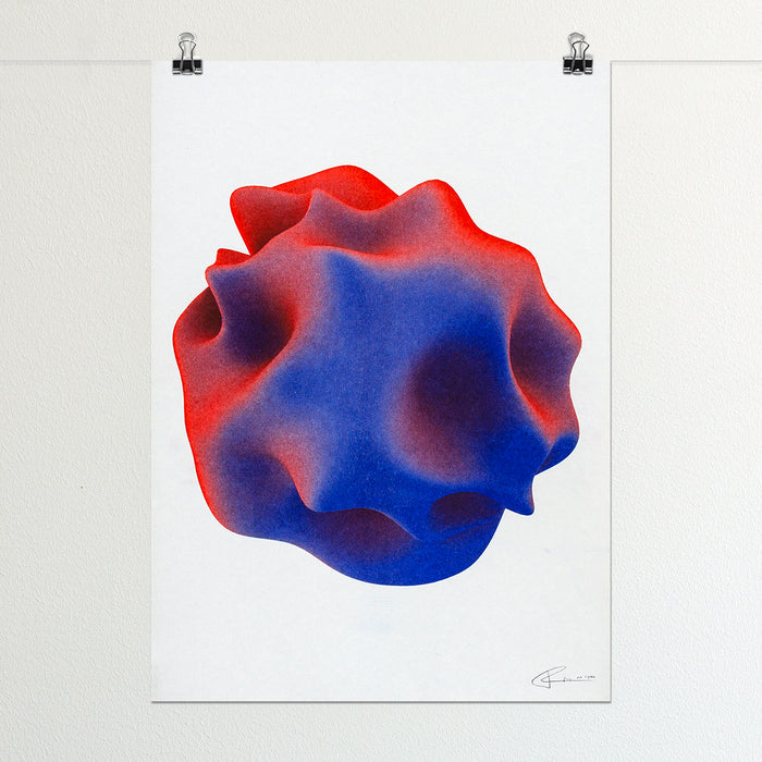 Foreign Worlds Set – Risograph Print A3, Limited Edition