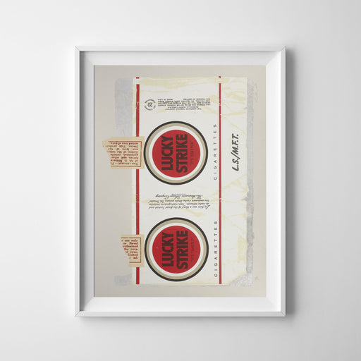 Lucky Strike — 7 Colour Screen Print