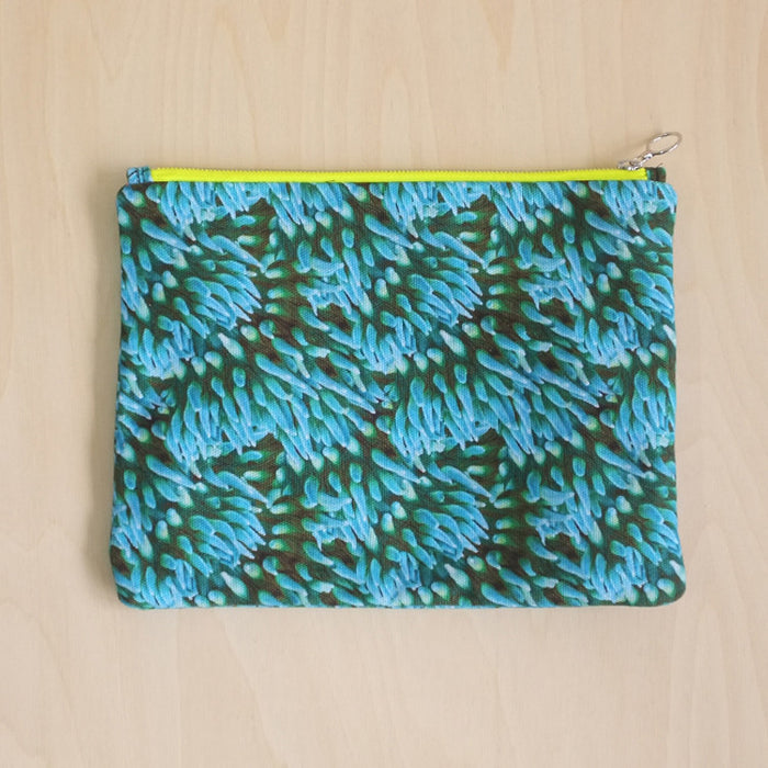 Anemone Clutch Bag Blue
