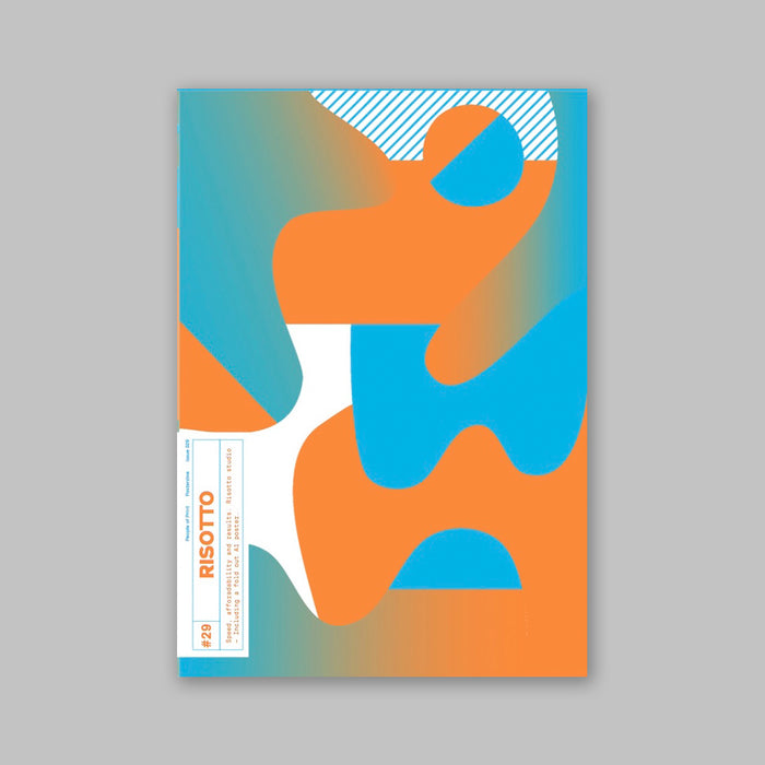 PRE ORDER : Posterzine™ Issue 29 | Risotto Studio