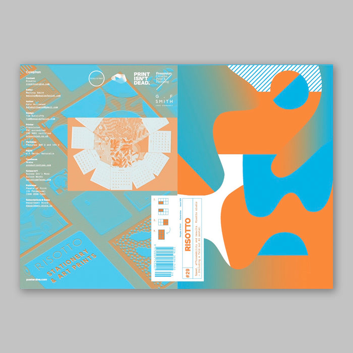Posterzine™ Issue 29 | Risotto Studio