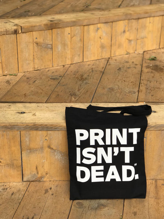 Print Isn't Dead Tote Bag