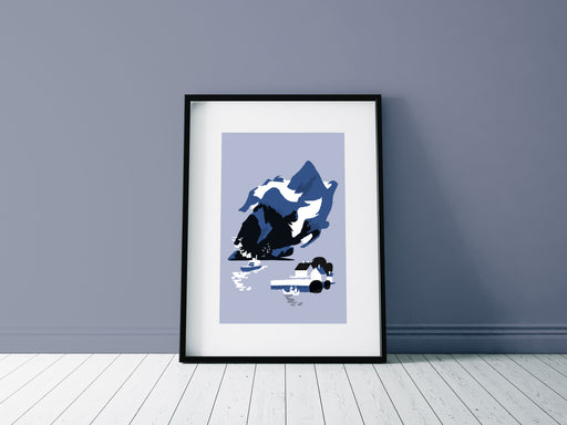 Norwegian Fjord - A4 Limited edition