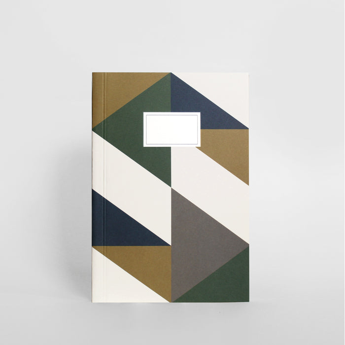 Building Block Notebook - Large, Green