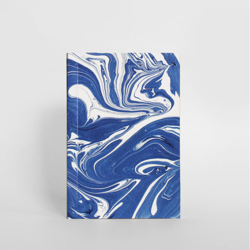 Marbled Notebook - Blue