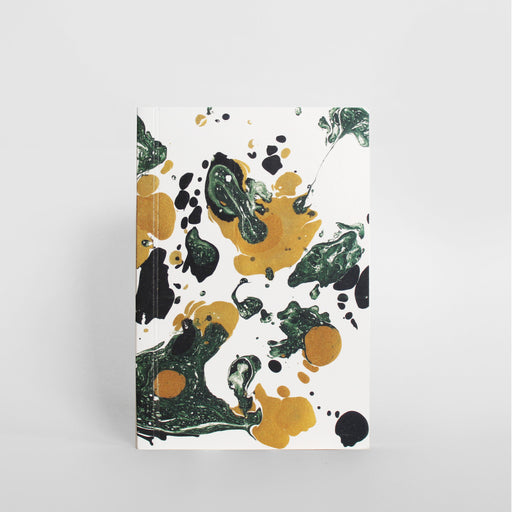 Marbled Notebook - Green