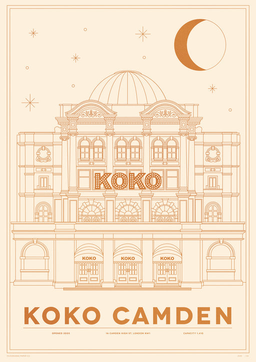 Koko Camden Venue Screenprint