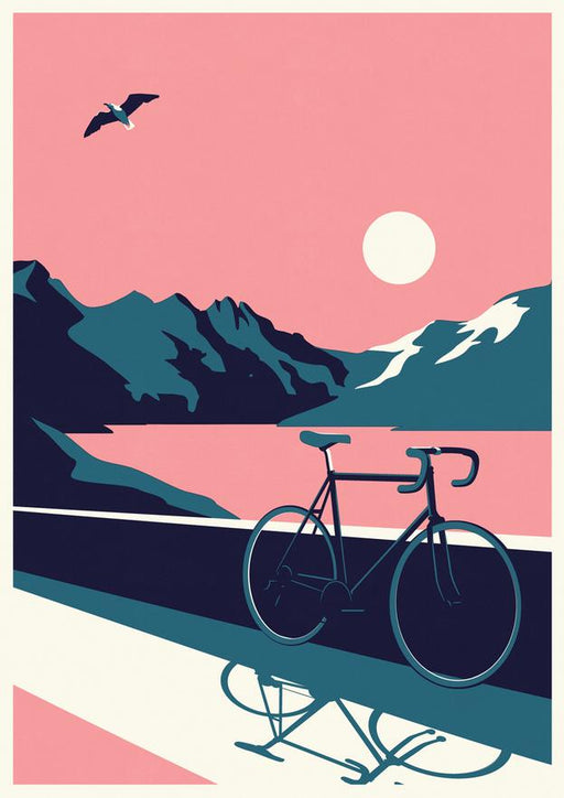 Summertime Travel - Bike A2 Screenprint