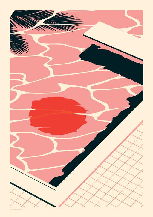 Endless Summer - Pool A2 Screenprint