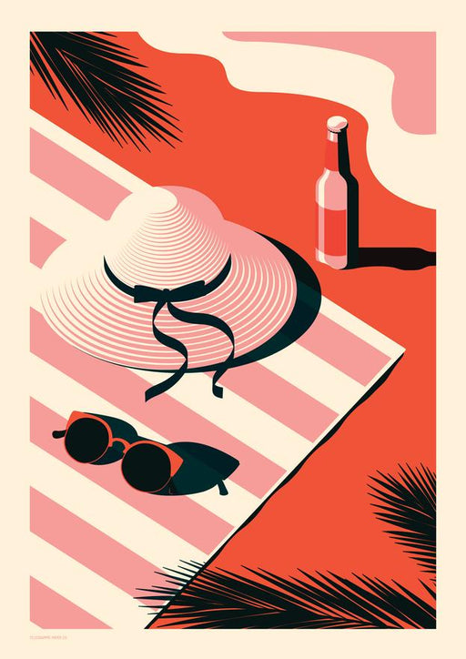 Endless Summer - Sunbather A2 Screenprint