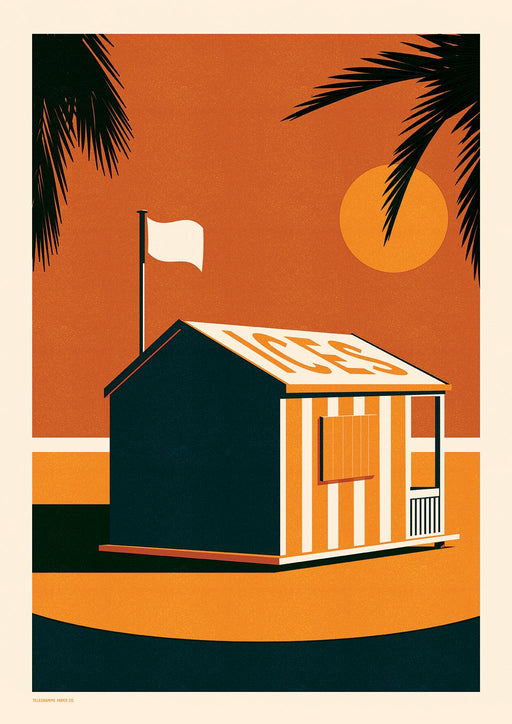 Endless Summer - Ices A2 Screenprint