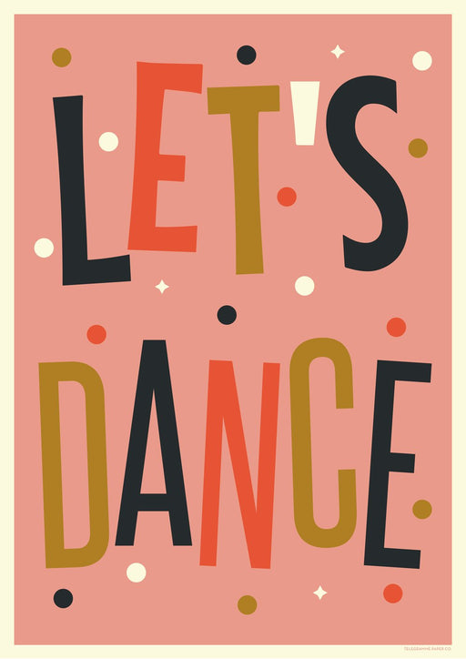 Let's Dance A2 Screenprint