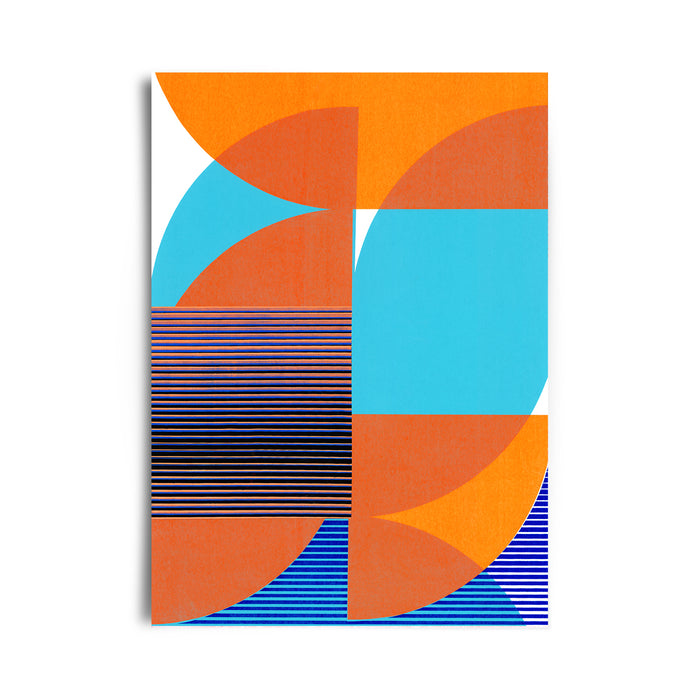 Tangram Slice X | Limited Edition Giclee Print  50 x 70cm