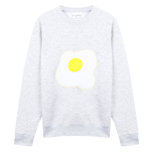 Grey Fried Egg Sweatshirt