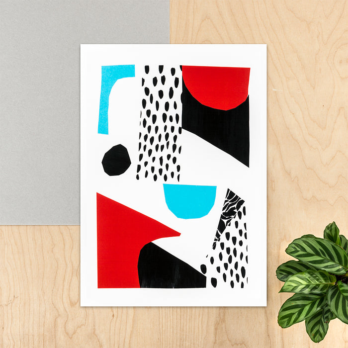 Lucía - A3 Abstract Giclée Print