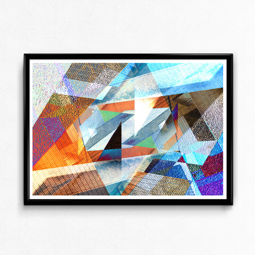 """Barbican Abstract"" – Brutalist Collage: Giclée Print, Limited Edition"