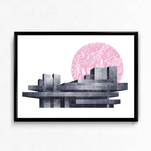 """Brutal Moon"" – National Theatre: Giclée Print, Limited Edition"