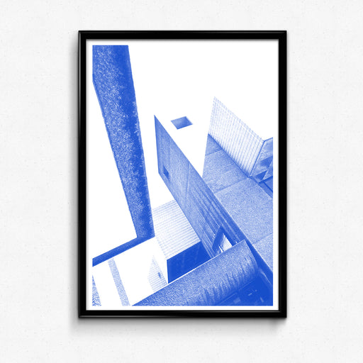 """Barbican in Blue"" – Screenprint: Limited Edition"