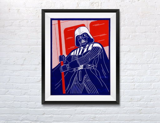 """Darth Vader"" A2 Screenprint"