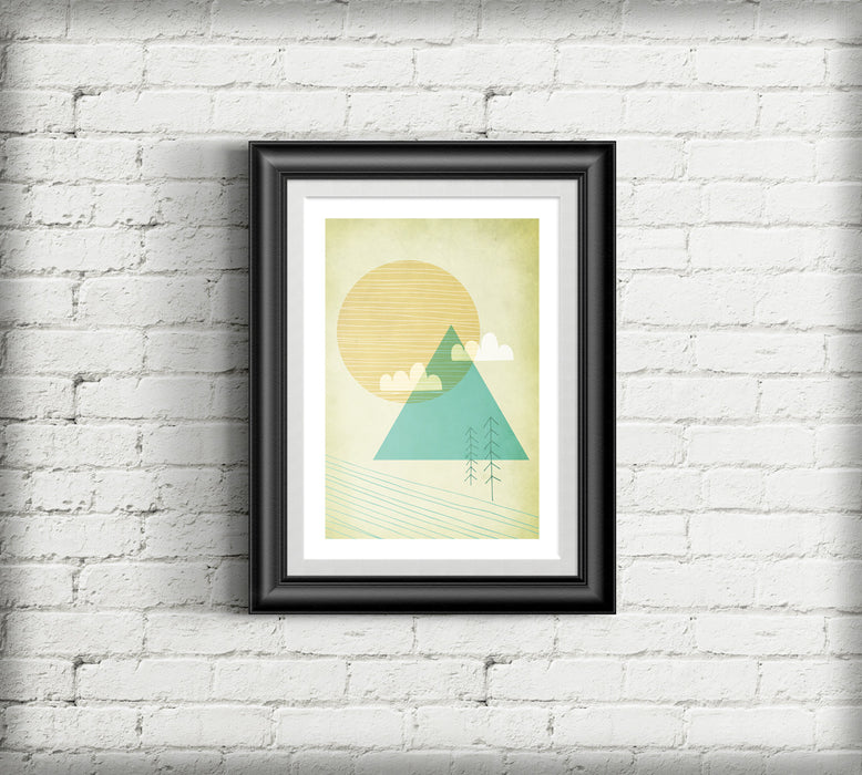 """Brave the Mountain Passes"" - A3 Giclee Print"