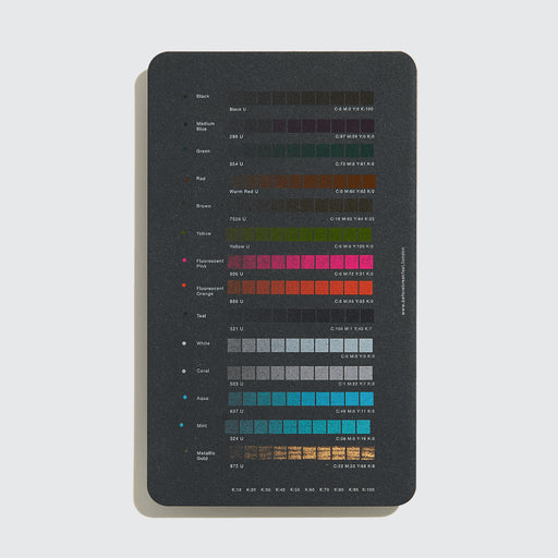Riso Colour Chart Set / Black