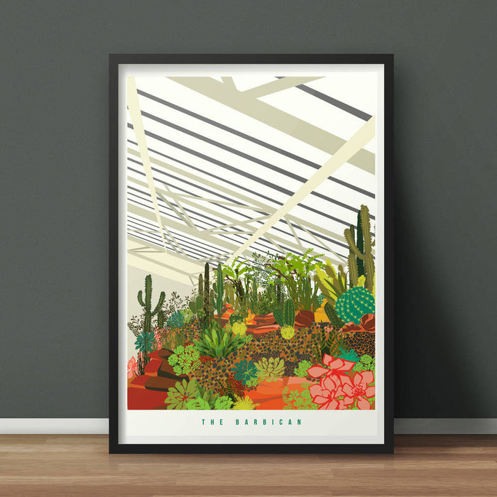 The Barbican Conservatory Art Print