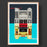 The Ritzy Cinema Brixton Illustrated Art Print
