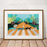 Abbey Road Foxes Illustrated Art Print