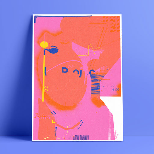 Stanhope - A3 risograph