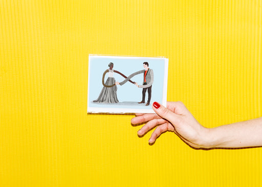 Wedding - greeting card