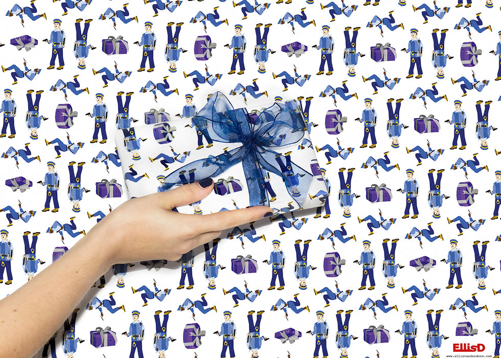 Naught Gift - wrapping paper