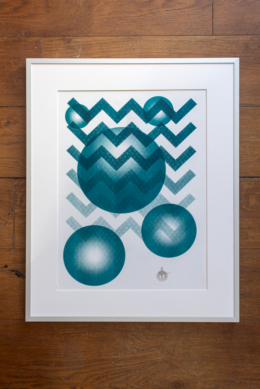 - A3 RISO PRINT 03 - The Cledford Project