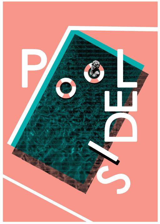 Poolside Screen Print