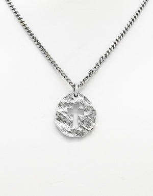 """The Promise"" Pendant with Chain 3/4"" Tall"