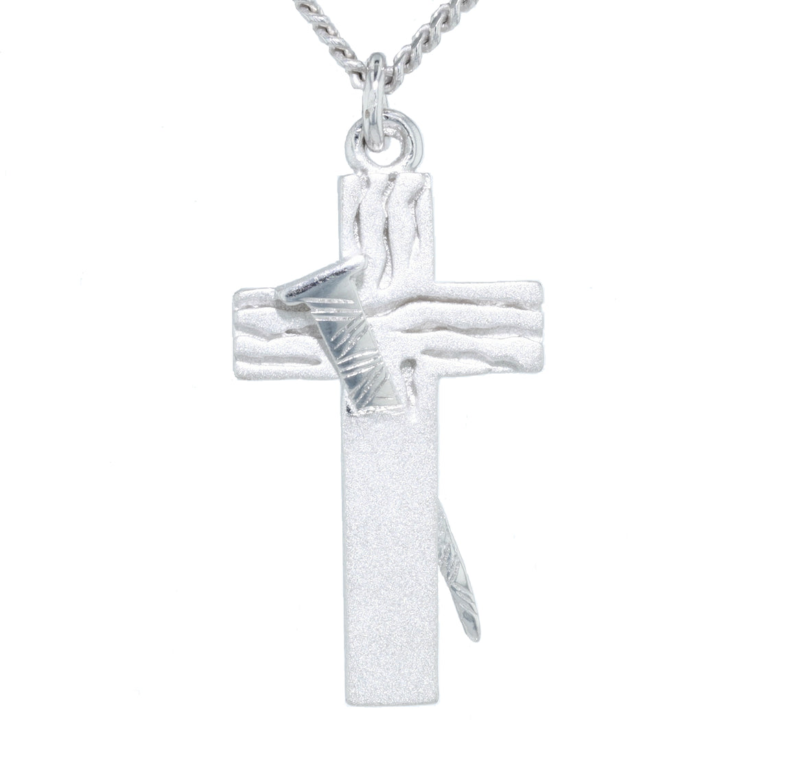The Redemption Cross- Sterling Silver