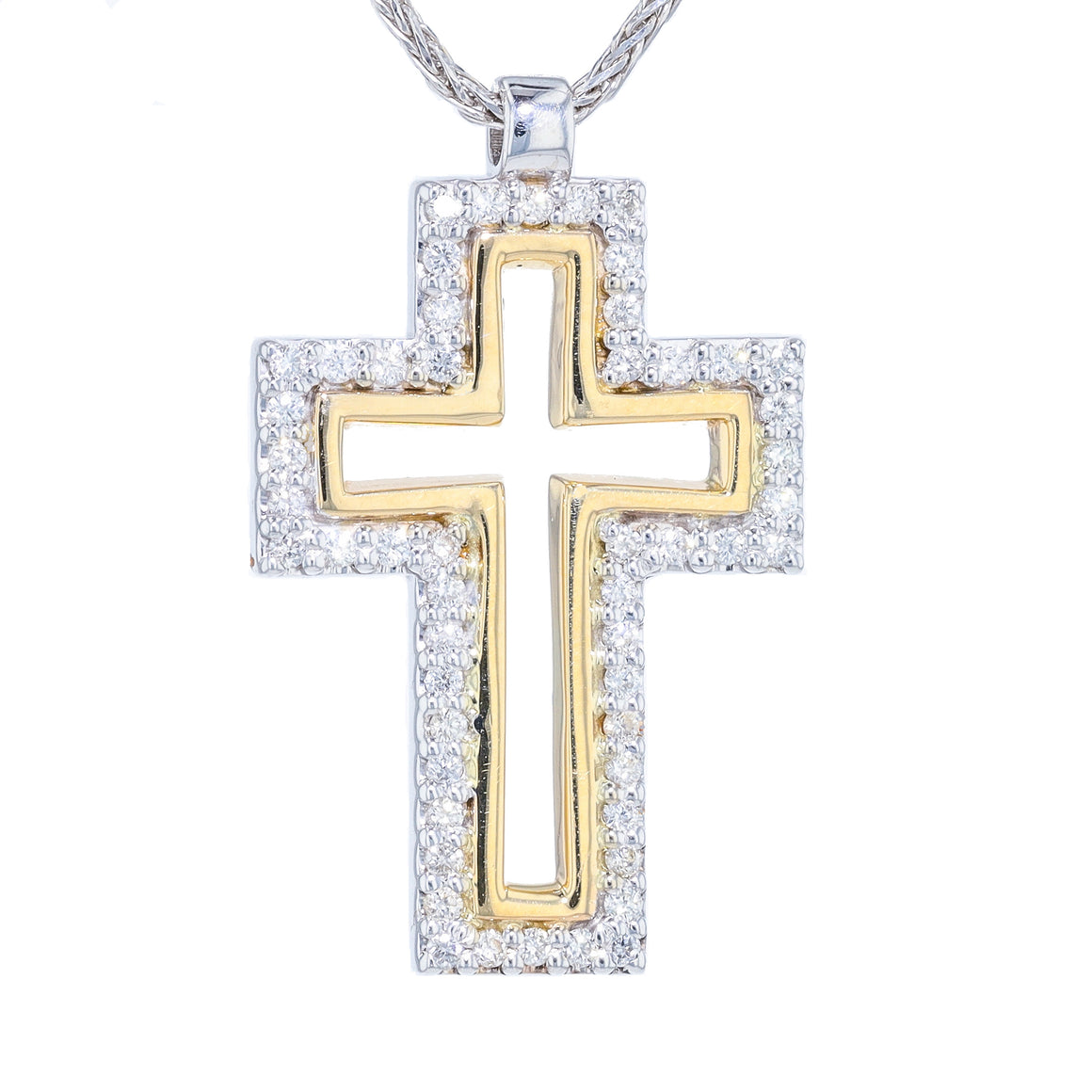"""Trinity"" Diamond Cross"