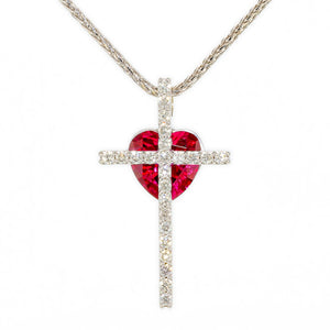 """Repentance"" Diamond Cross"