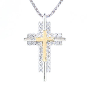 """Restoration"" Diamond Cross"