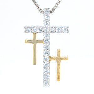 """Resurrection"" Diamond Cross"