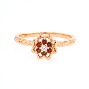 Tulip Rings - 10K Rose Gold